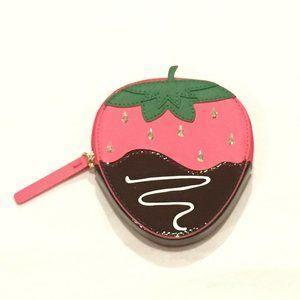 Kate Spade | Chocolate Strawberry Coin Purse